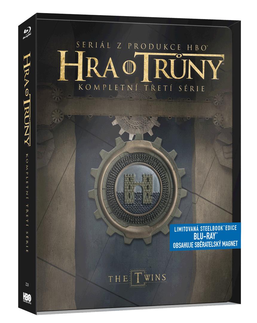 Hra o trůny - 3.sezóna (Blu-ray, steelbook)