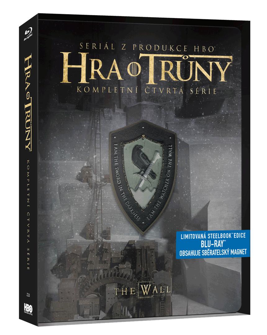 Hra o trůny - 4.sezóna (Blu-ray, steelbook)