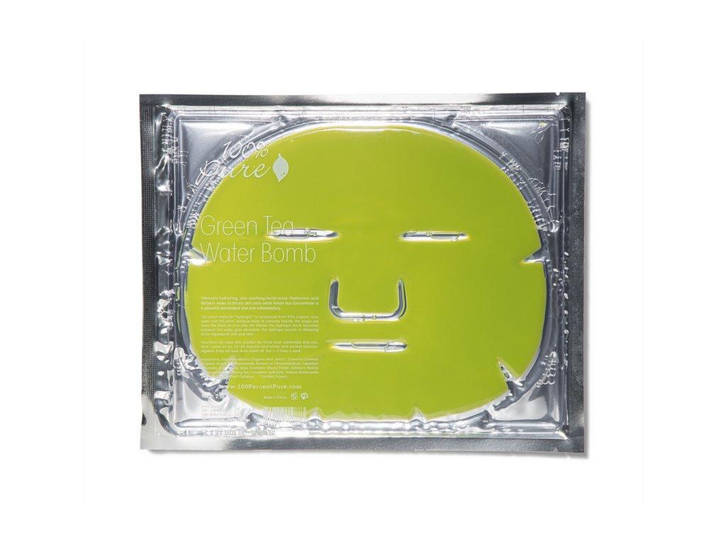 100% Pure: Pleťová hydratační maska se zeleným čajem - recenze od Růžový chroust