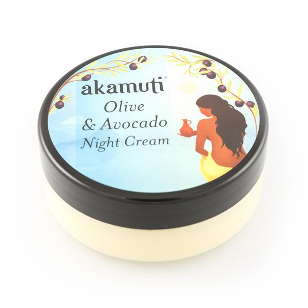 Akamuti: Pleťový noční krém Oliva a avokádo - recenze od Růžový chroust