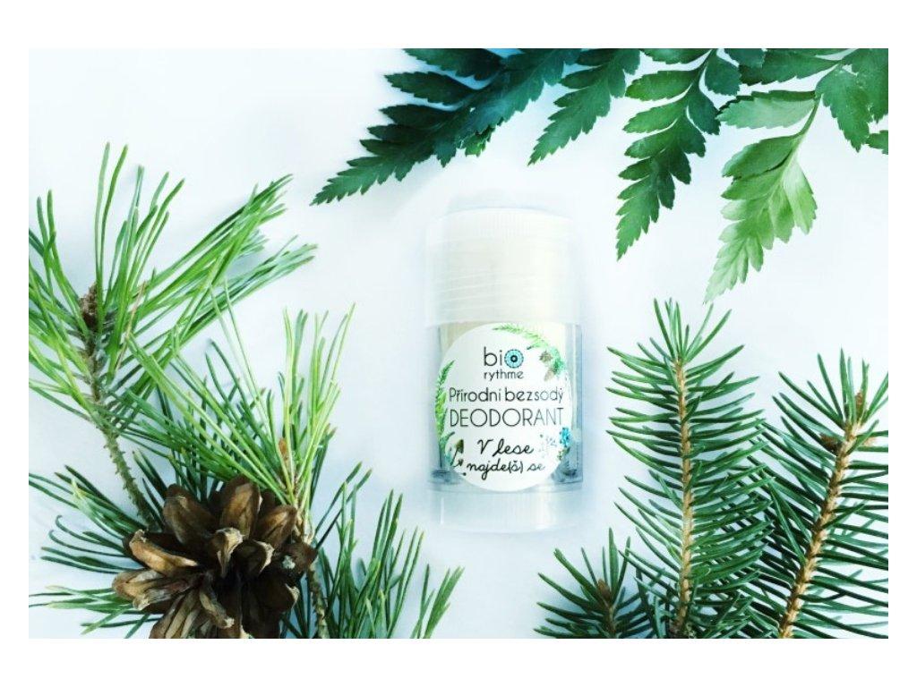 Biorythme: Přírodní bezsodý deodorant V lese najde(š) se - recenze od Ecoblog