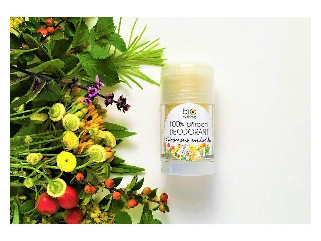 Biorythme: Přírodní deodorant Citronová meduňka - recenze od Růžový chroust