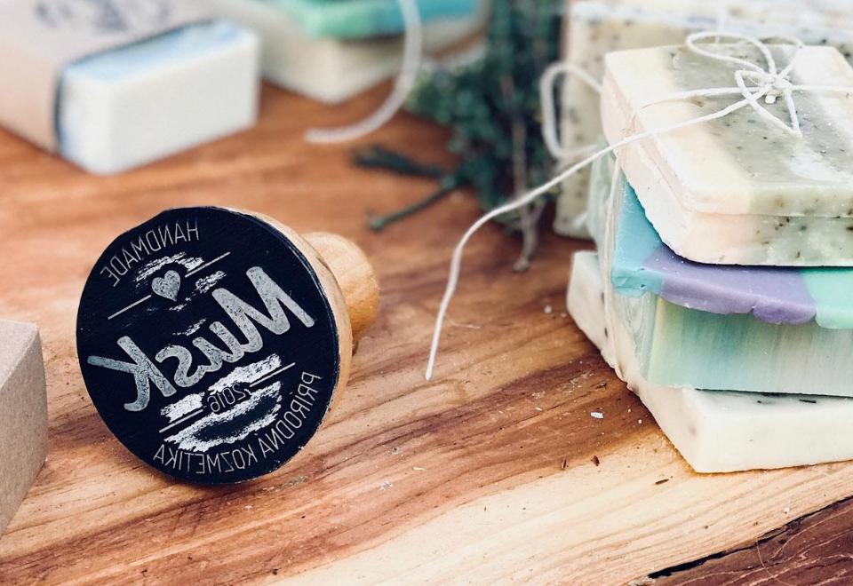 Musk: Slovenský specialista na přírodní mýdla a tuhé šampony