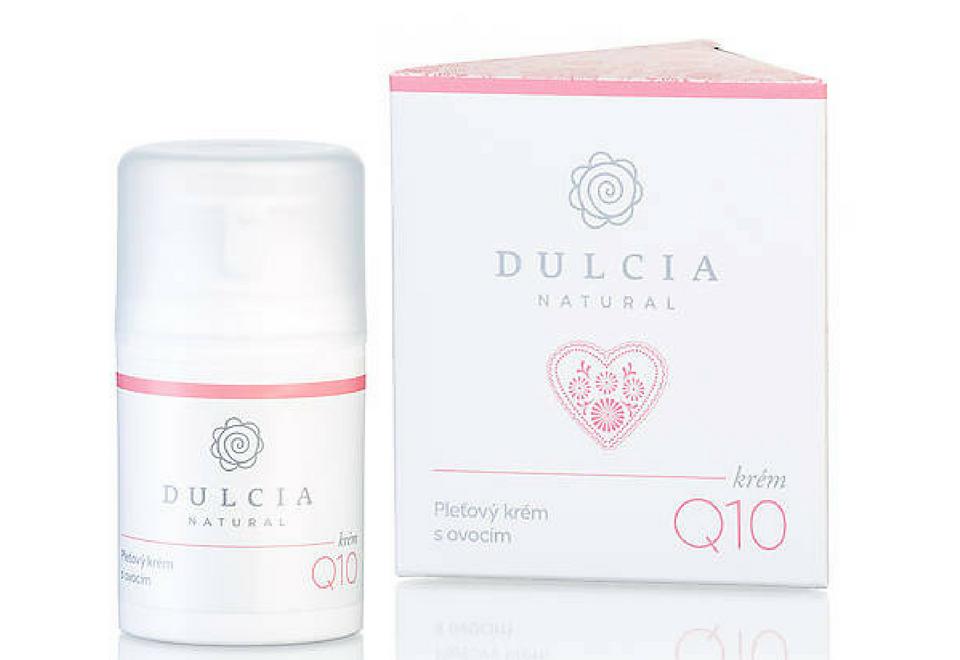 Dulcia Natural: Pleťový krém s ovocem a Q10 - recenze od Blog By Weilynn