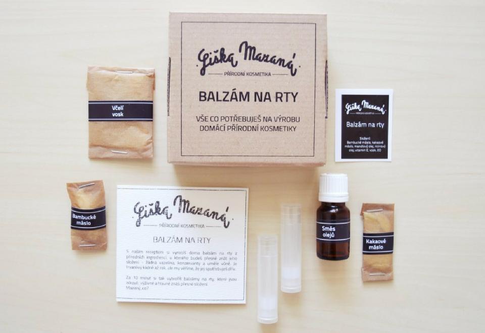 Liška Mazaná: DIY balzámy na rty, Vanilka a pomeranč - Čo je dobré, to musím mať