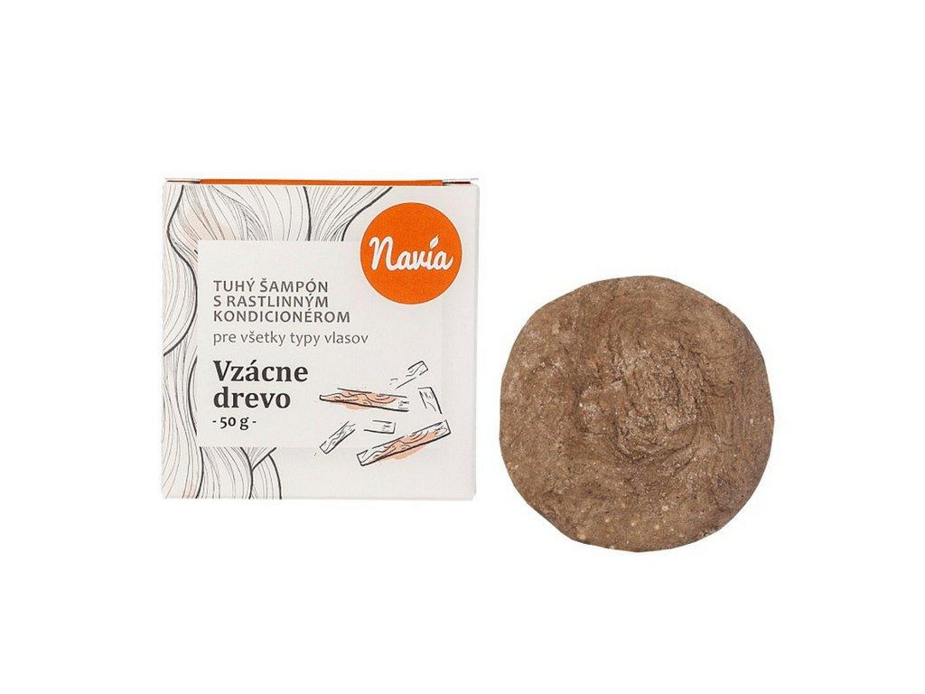 Kvitok (dříve Navia): Tuhý šampon s kondicionérem pro tmavé vlasy Vzácné dřevo - recenze od Růžový chroust