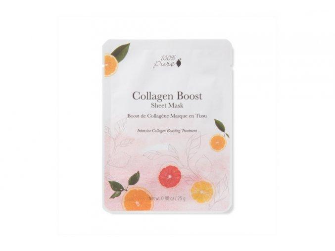 100% Pure: Plátýnková maska, Podpora tvorby kolagenu - recenze od All my cosmetics