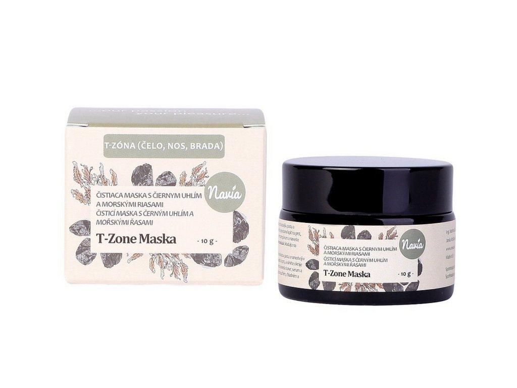 Kvitok (dříve Navia): Slupovací maska s černým uhlím na T-zónu - recenze od Beauty Gabu