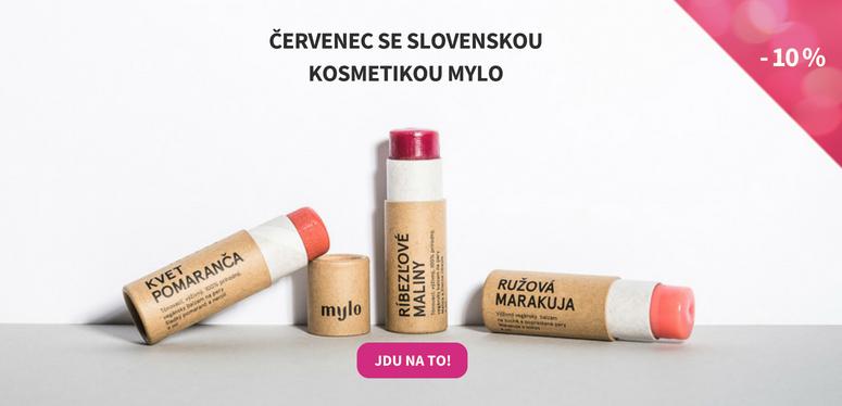 Sleva 10 % na kosmetiku Mylo