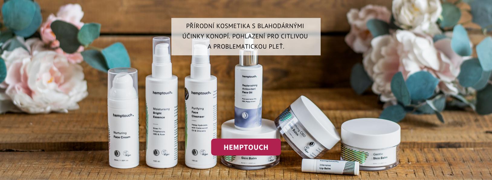 Hemptouch konopná kosmetika