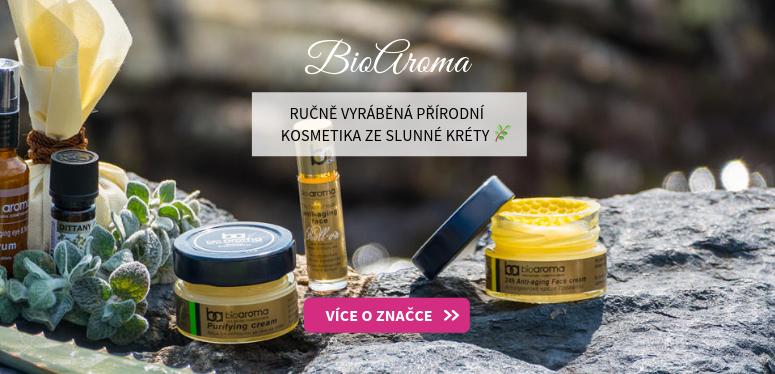 BioAroma - ručně vyráběná přírodní kosmetika ze sluné Kréty