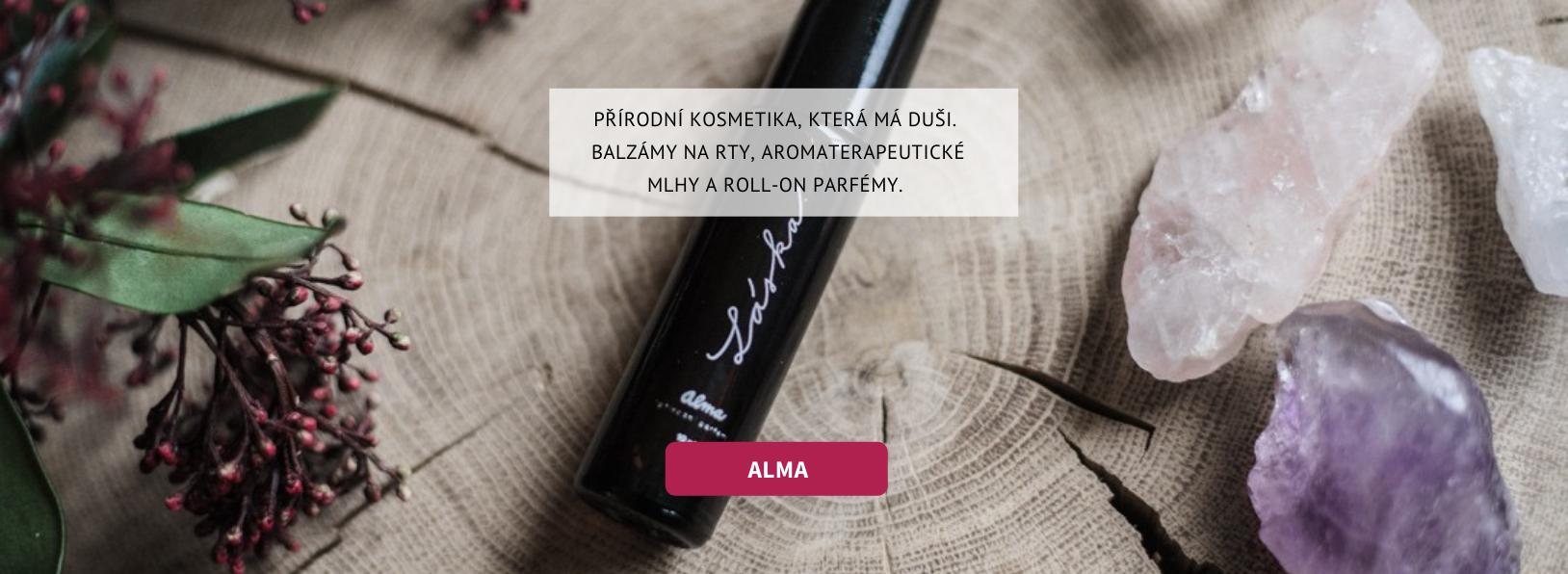 Alma - přírodní kosmetika, která má duši.