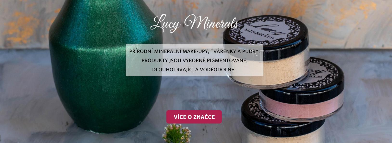 Lucy Minerals - přírodní minerální kosmetika