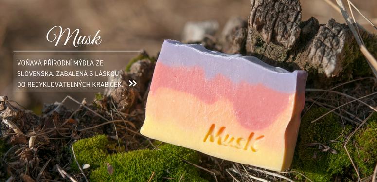 Přírodní mýdla MusK