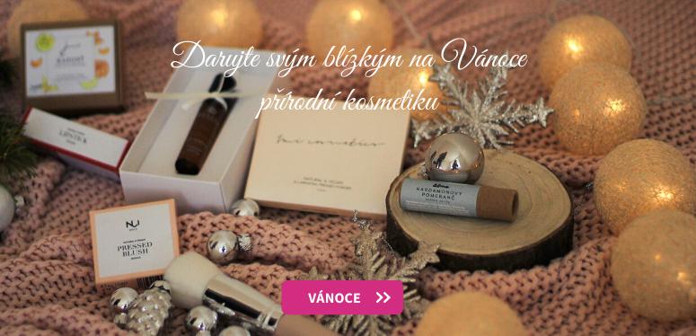 Darujte svým blízkým na Vánoce přírodní kosmetiku