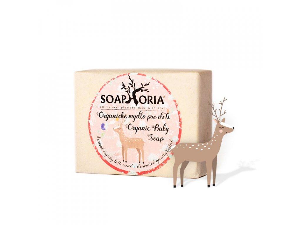 soaphoria organicke mydlo pro deti