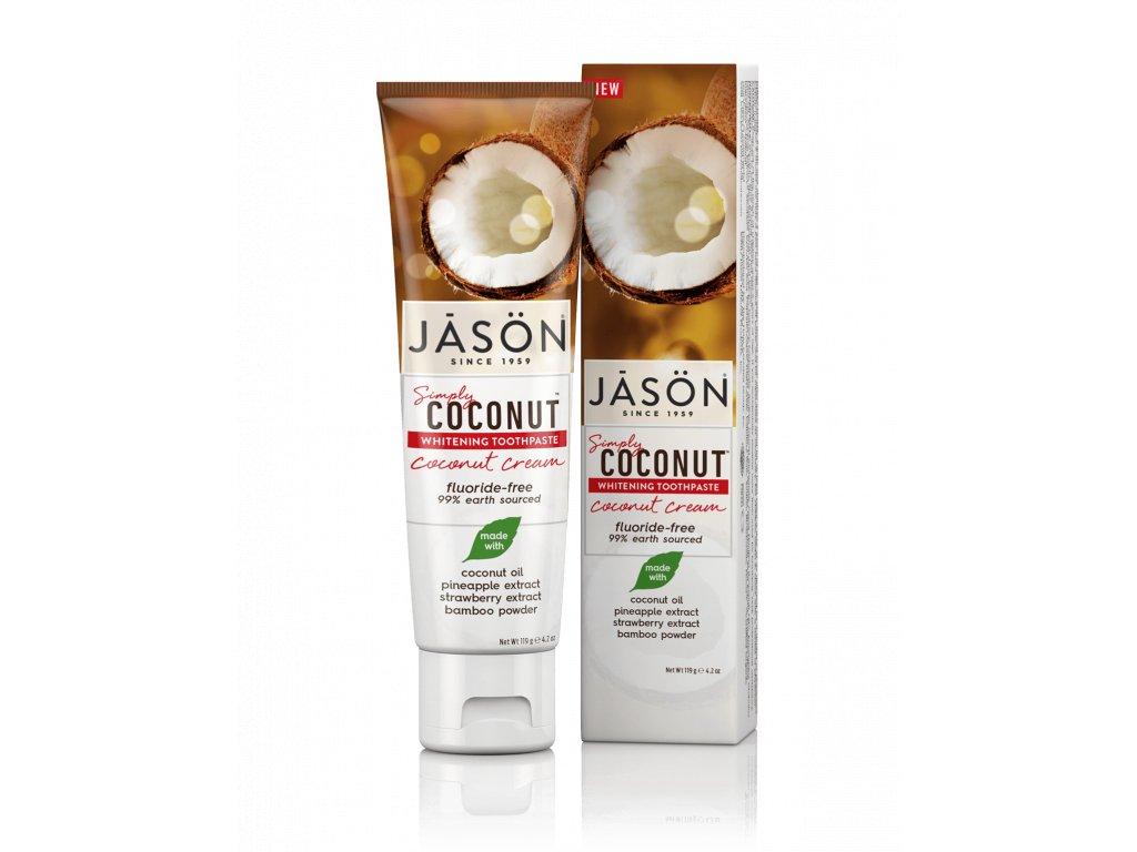Jásön bělicí zubní pasta simply coconut