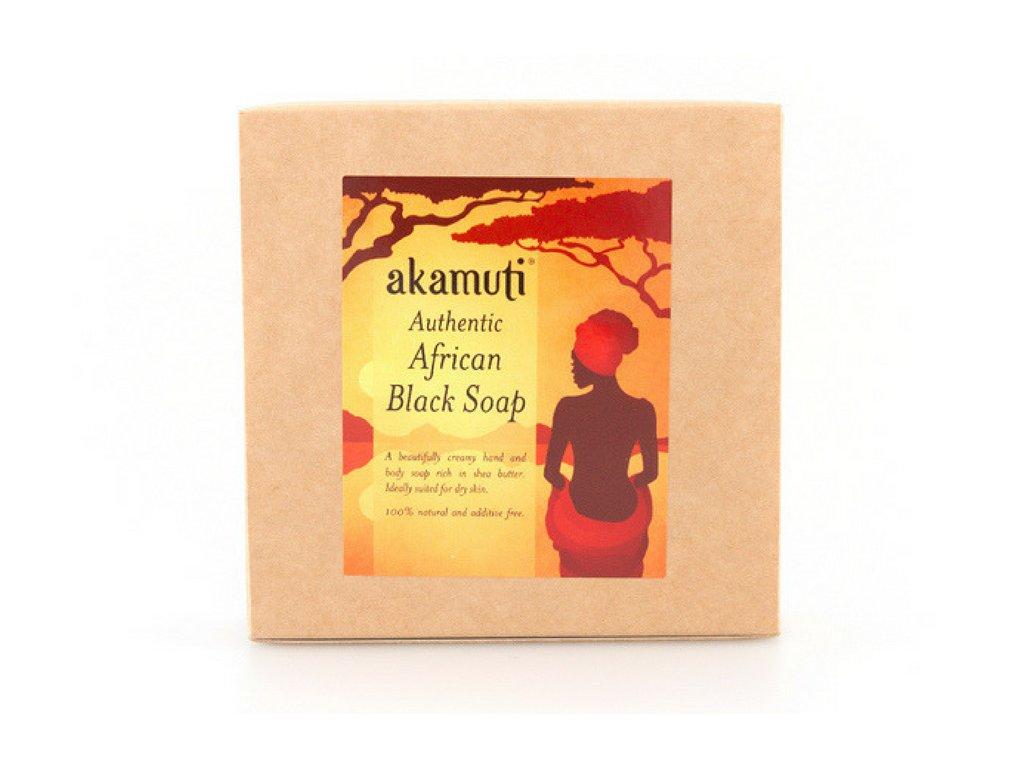akamuti africke cerne mydlo