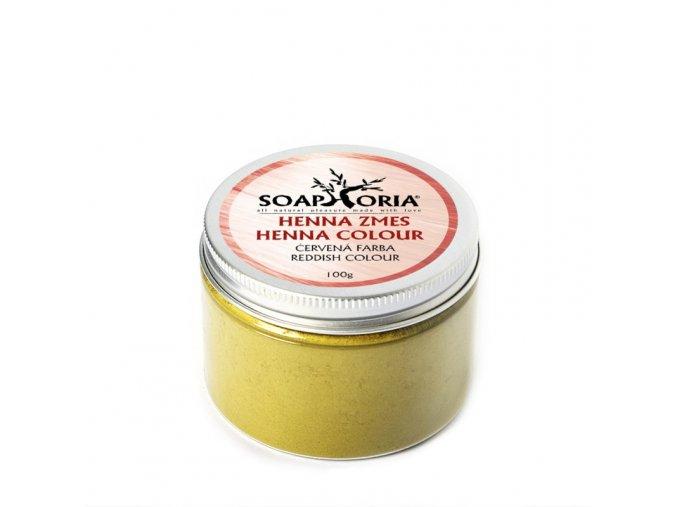 soaphoria bylinna barvici smes na vlasy z henny cervena
