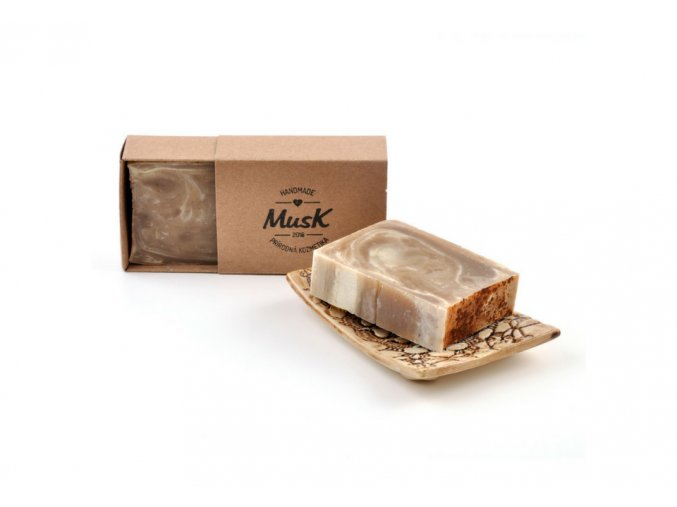 musk prirodni mydlo hrejiva skorice