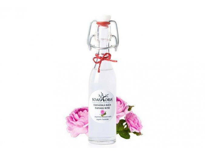 soaphoria organicka kvetova voda damasska ruze