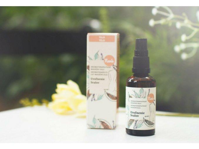 navia aromaterapeuticky masazni olej uvolneni svalu