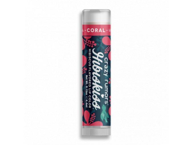 crazy rumors barevny balzam na rty coral