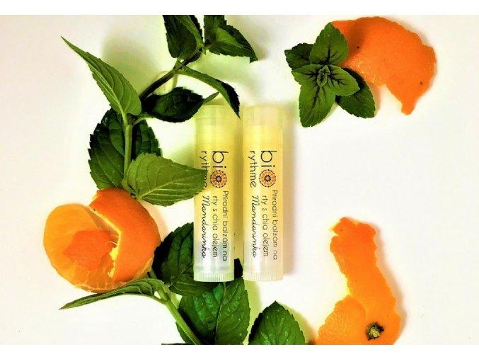 biorythme balzam na rty s chia olejem mandarinka