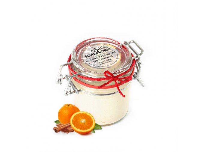 soaphoria telove sufle koreneny pomeranc
