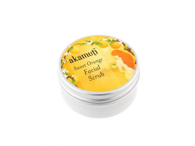 Akamuti pletovy peeling sladky pomeranc