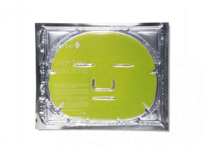 100 pure pletova hydratacni maska se zelenym cajem