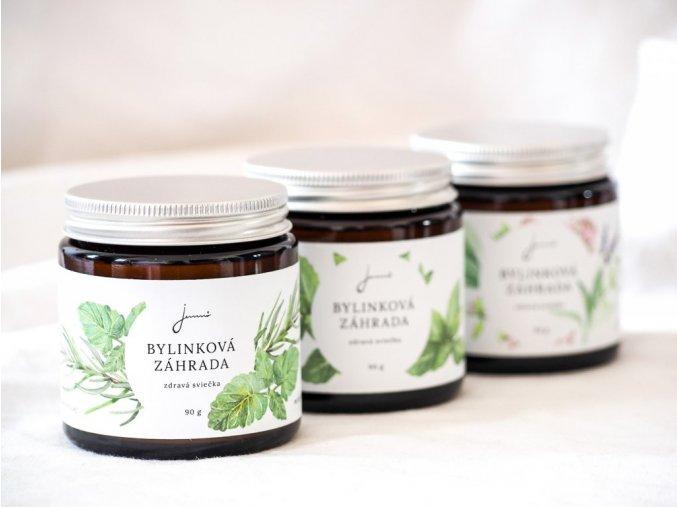 jemno zdrava svicka bylinkova zahrada medunka