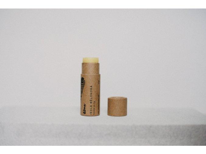 Alma prirodni balzam na rty v papirove tube jedle belokora