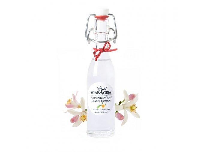 soaphoria organicka kvetova voda pomerančový květ