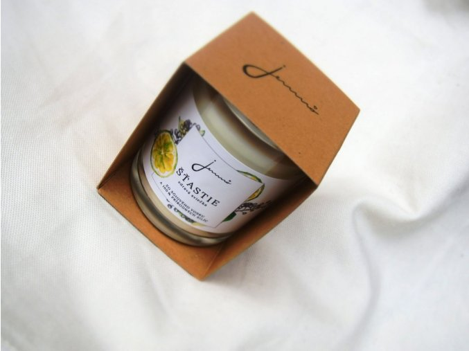 Jemno zdravá sójová svíčka štěstí