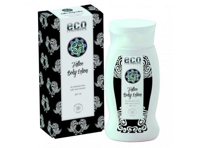 Eco cosmetics tělové mléko pro tetovanou pokožku