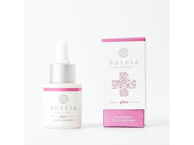 Dulcia natural plus serum prvni pomoci vrasky