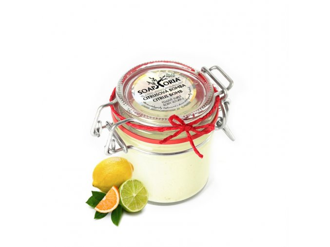 soaphoria telove sufle citrusova bomba