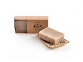 musk prirodni peelingove mydlo skrupinka