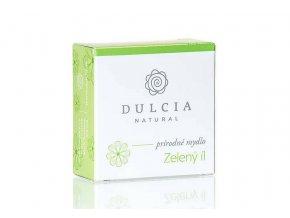 dulcia natural prirodni mydlo zeleny jil