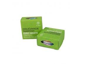 Two cosmetics látkové odličovací tampony zero waste