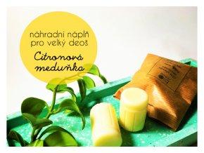 biorythme nahradni napln deodorant citronova medunka