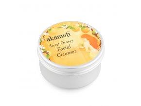 Akamuti čisticí krém na obličej sladký pomeranč