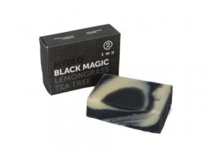 two cosmetics cerne mydlo s aktivnim uhlim black magic