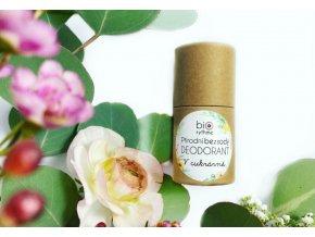 biorythme bezsody prirodni deodorant v papirovem obalu v cukrarne