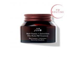 100 pure nocni krem multivitaminy a antioxidanty