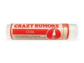 Crazy Rumors balzám na rty Cola | Oblíbená limonáda 4,2 g