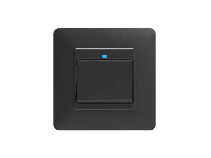 SOLO Chytrý vypínač osvětlení GAMA ONE tlačítkový černý