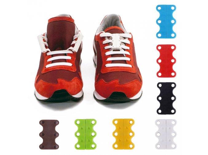 Magnetické tkaničky - spony do bot