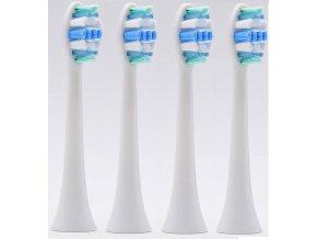 Náhradní kompatibilní hlavice na elek. zubní kartáčky Philips Sonicare Optimal Gum Care HX9034/10 - 4 ks